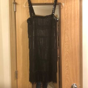Dresses & Skirts - Black gogo dancer dress